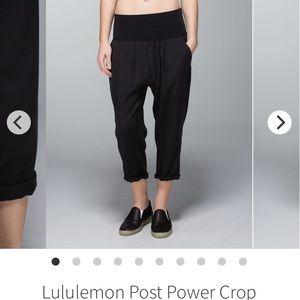 Lululemon cropped pants size 4